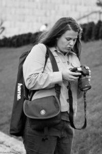 Warsaw by night photographic workshop, Anna J. Kutor, AFA English