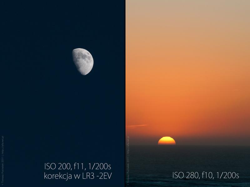 Jak zrobić zdjęcie księżyca? Zdjęcie księżyca, zachód słońca, kurs foto